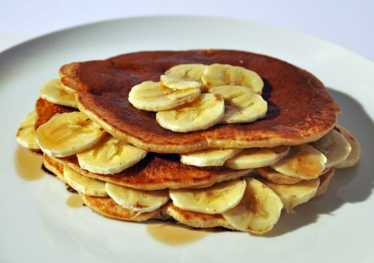 Americké veganské lívance Recept: http://soucitne.cz/recepty/sladka-jidla/americke-veganske-livance