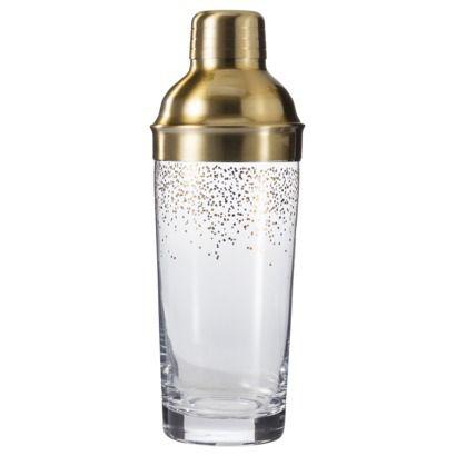 Threshold Gold Cocktail Shaker