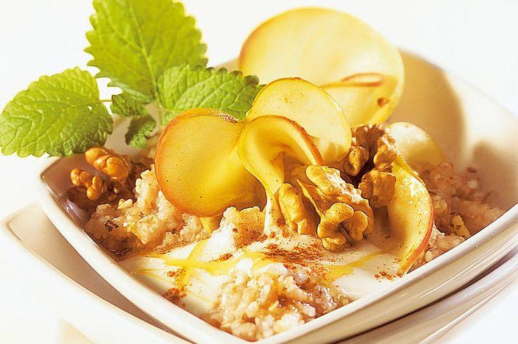 Das sättigt - versprochen: Buchweizenmüsli mit Apfel
