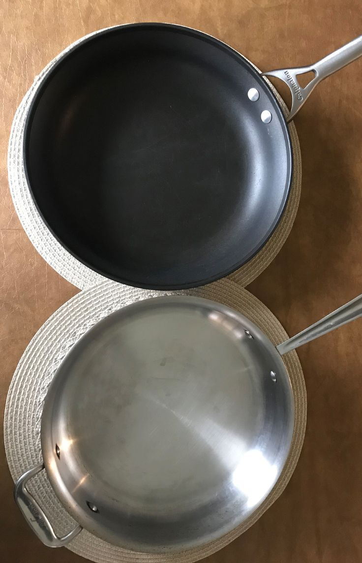 Stainless Steel Vs Non Stick Cookware In Depth Comparison In 2020 Stainless Stainless Steel Cookware