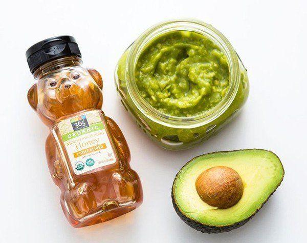 Honey Avocado Mask @myweddingdotcom