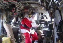 Рождественские и новогодние фотографии военных.