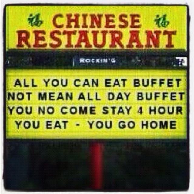 BAHAHAHAHAHA! Funniest sign EVER!! ≧◡≦: Funnies Bones, Restaurant Signs, Eating Buffets I, Funniest Signs, Humor Sayings, Hilary, Funny, Buffets I Understanding, Funnies Stuff