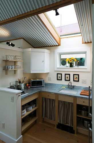 Tiny kitchen sun