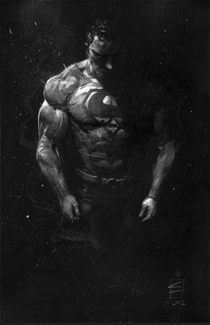 Superman  Illustration by Eddy Newell