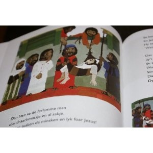 Printebibel Frisian Children's Bible (Frisian Bible with Pictures for Children)  $79.99