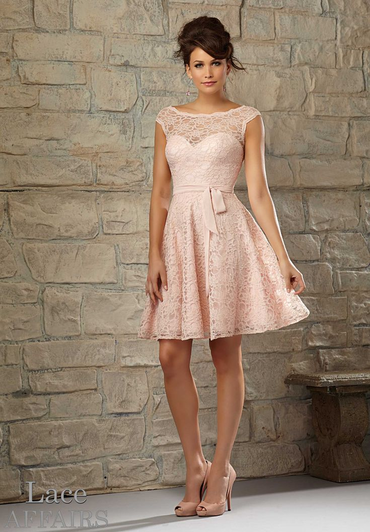 Bridesmaids Dresses – Lace Affairs Lace Available in All Mori Lee Bridesmaids Solid Lace Colors