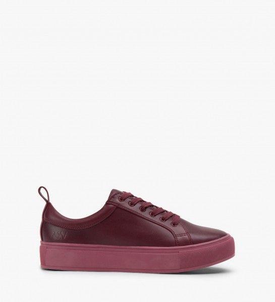 Matt & Nat BONAVENTURE - CERISE sneaker | vegan shoes | vegan sneakers