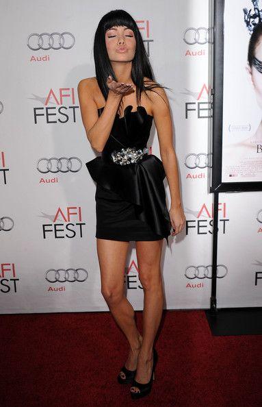 "Ksenia+Solo+Black+Swan | Actress Ksenia Solo arrives at the ""Black Swan"" closing night gala ..."