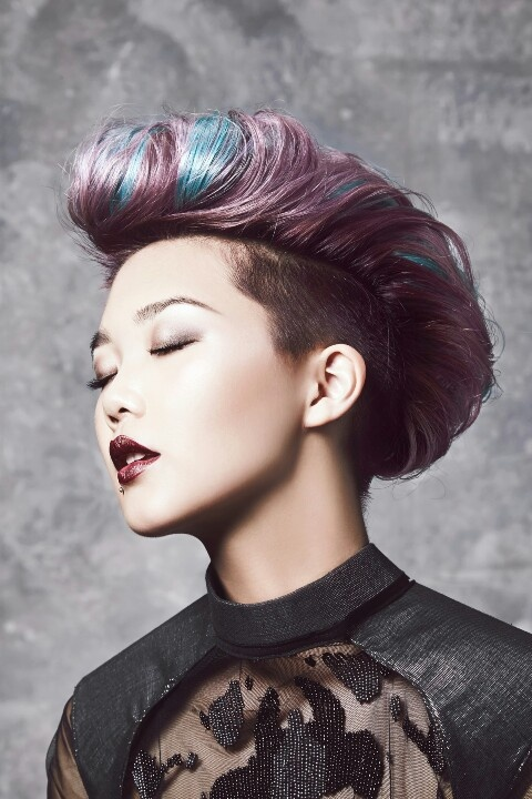 X-FILES  (Partial Lunar)   Cut on a #partial lunar line the styling creates the lunar #curve shape the look is inspired by.  Coming straight from the worlds #hottest #catwalks, undercuts and disconnection are the must have look for the upcoming seasons. #Iwantthathair www.houseofernest.com.au