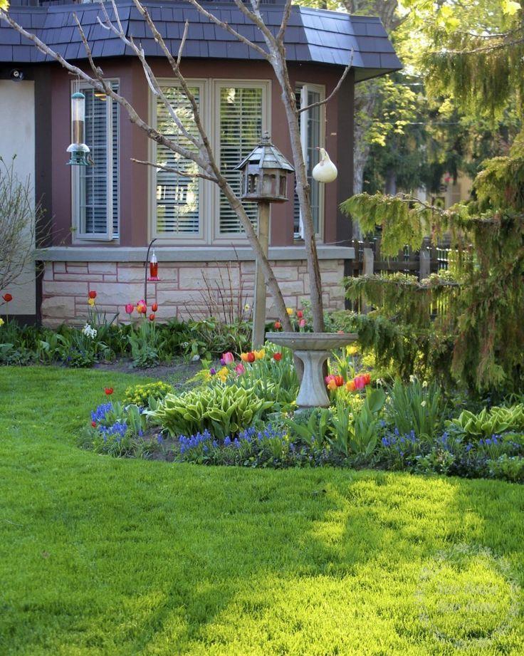 Spring Garden Ideas spring garden decor house decor ideas garden idea Spring Garden With Flowering Bulbs May Ontario Canada