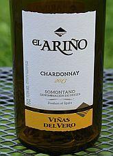 """Viñas Del Vero """"El Ariño"""" Chardonnay 2013, DO Somontano, Spanje -"""
