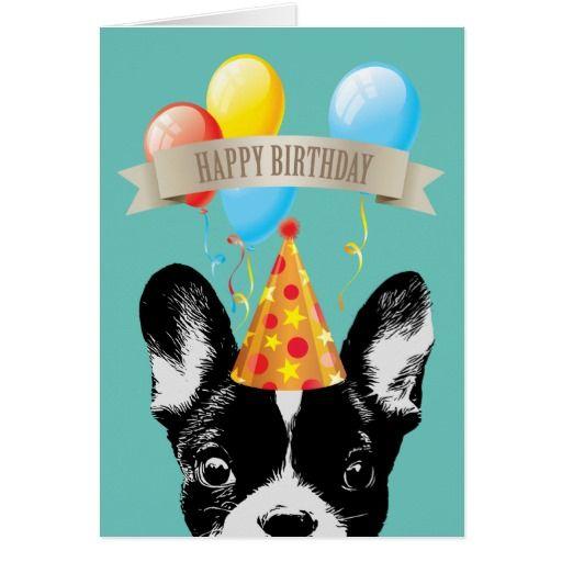 French Bulldog & Balloons Happy Birthday on Zazzle  @zazzle #french #bulldog #card #birthday #dog #pets #dogs #pet #animal #cute #balloon #buy #shop #sale #shopping #blog #blogging #look #child #kid #children #gift #gifting #present #sweet