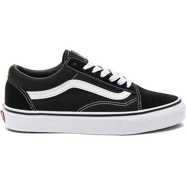 Vans Old Skool found on Polyvore featuring shoes, sneakers, sapatilhas, vans, lace up sneakers, vans shoes, vans trainers, vans footwear and lacing sneakers