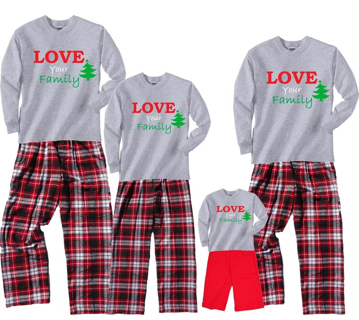 17 Best images about Matching Christmas Pajamas & Family Outfits ...
