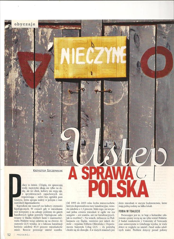 Ustęp a sprawa polska (Przekrój)