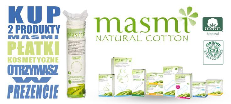 Kup 2 produkty Masmi w sklepie TAIAO a płatki kosmetyczne Masmi otrzymasz w prezencie!