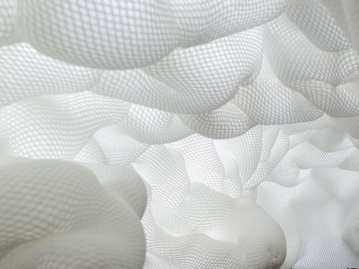 Taichi Kuma, Spacer Fabric Architecture. Institute for Computational Design, Univeristät Stuttgart.