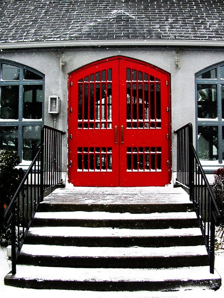 Black White and Red Doorway 110 best