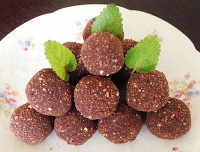 Sütőtökös csokigolyó (gluténmentes, paleo&vegán recept) ~ Éhezésmentes Karcsúság Szafival