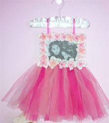 Tutu Picture Frame...Love it! :)