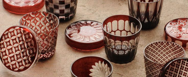 HIROTA GLASS, established since 1899.