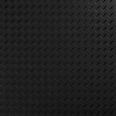 Lsi Tread Plate Black 24 Quot X 24 Quot Vinyl Tile Flooring 10