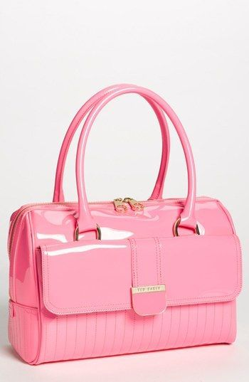 Ted Baker bag in very pink - loving it although very pink...