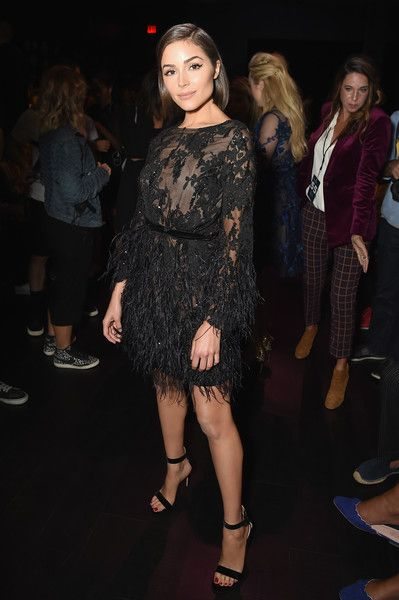 Olivia Culpo at Marchesa - Here's What Celebs Wore to Sit Front Row This Fashion Week - Photos