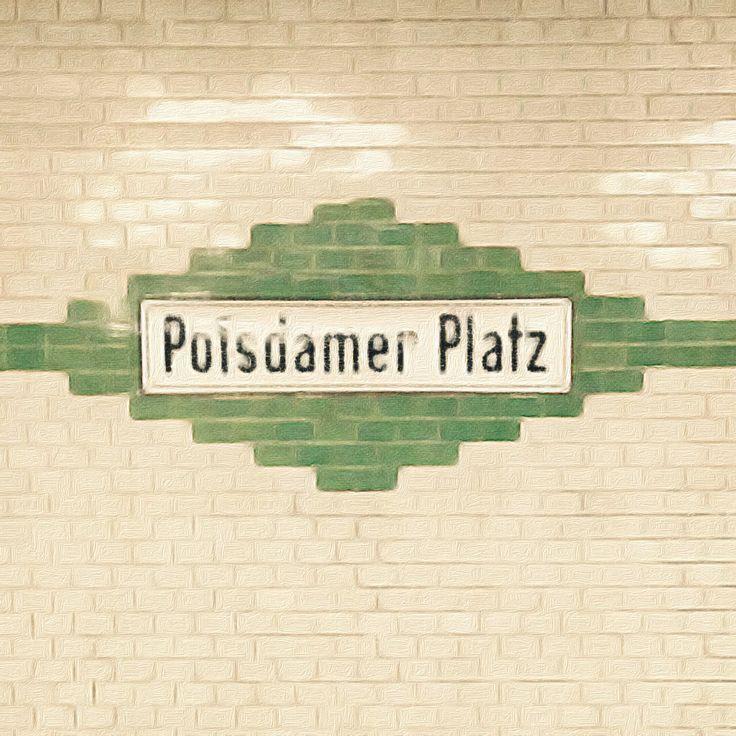 Train station Potsdamer Platz, Berlin