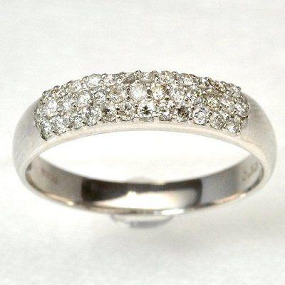 天然ダイヤパウェリング パヴェの結婚指輪・マリッジリングの一覧❤