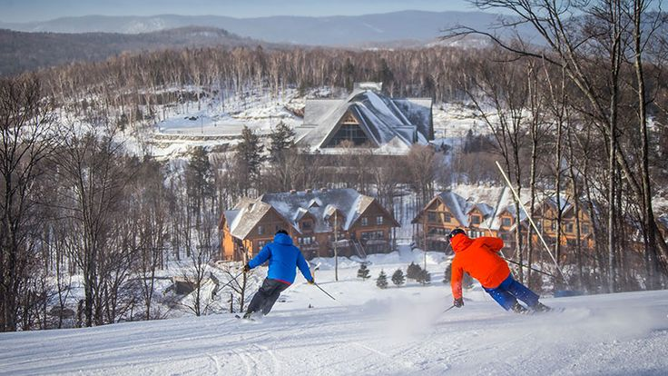Ski Mont Tremblant Resort   Daily Snow Report & Live Weather Conditions
