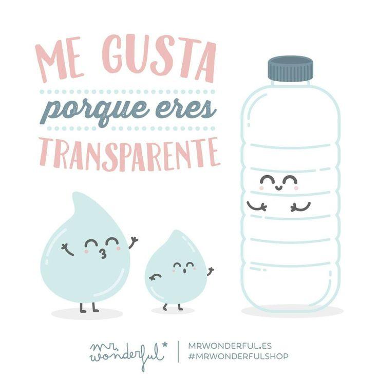 Me gusta porque erez transparente