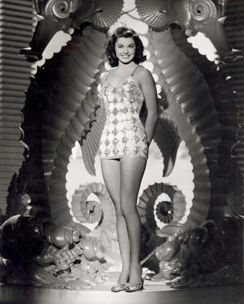 Esther Williams. Synchronized swimming:)