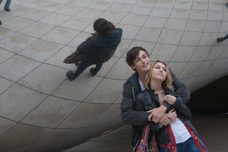 Douglas Booth and Miley Cyrus in LOL The Movie