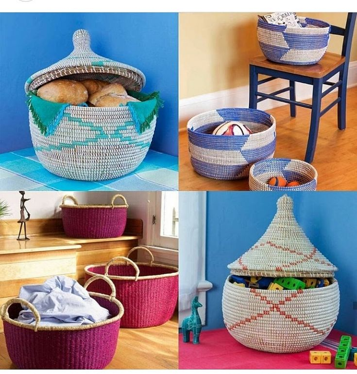 Shop baskets and storage bins at Africa Blooms | www.africabloom.com