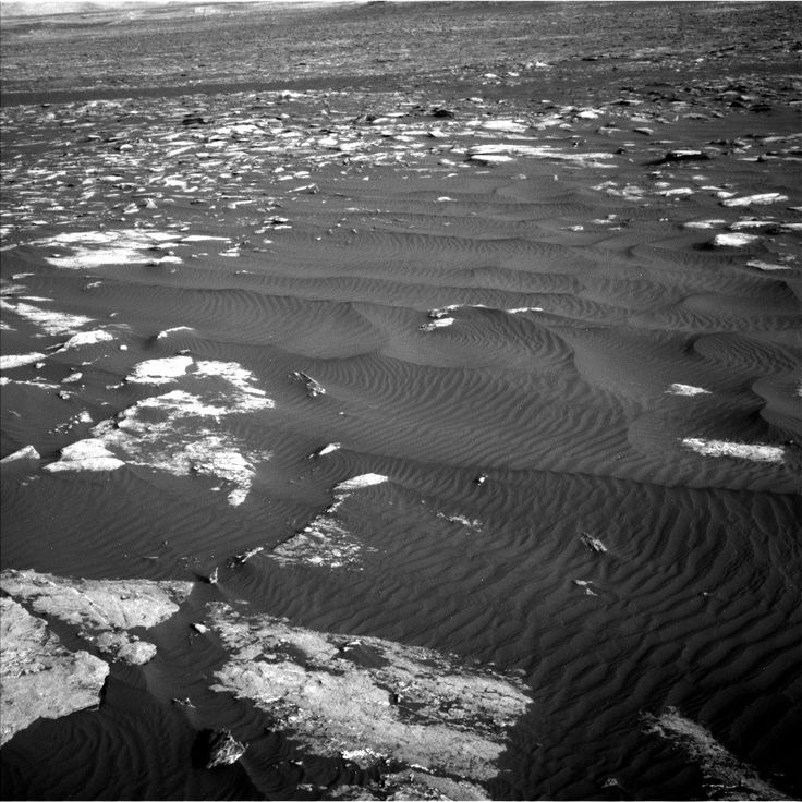 NASA's Mars rover Curiosity acquired this image using its Left Navigation Camera (Navcams) on Sol 1628