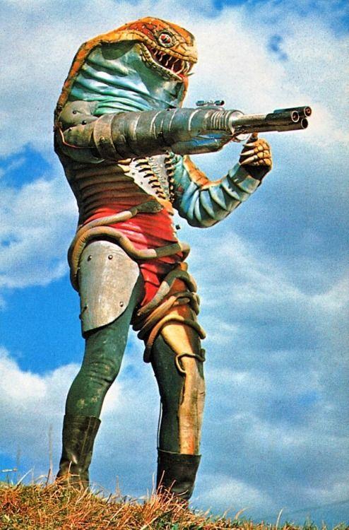 Machine Gun Snake (マシンガンスネーク) from Kamen Rider V3, 1973