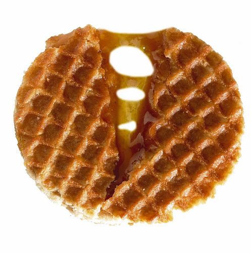 Stroopwafels.  To be eaten alone or with chili or to be used as a coaster.