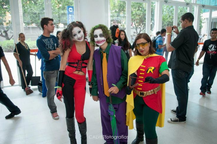 Cosplay de Robin (Carrie Kelley), Joker e Harley Quinn