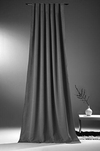 novum fix gardine vorhang f r verdunkelung thermoeffekt kr uselband blickdicht und. Black Bedroom Furniture Sets. Home Design Ideas