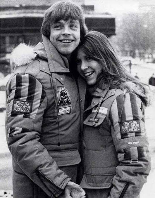Mark Hamill & Carrie Fisher Star Wars