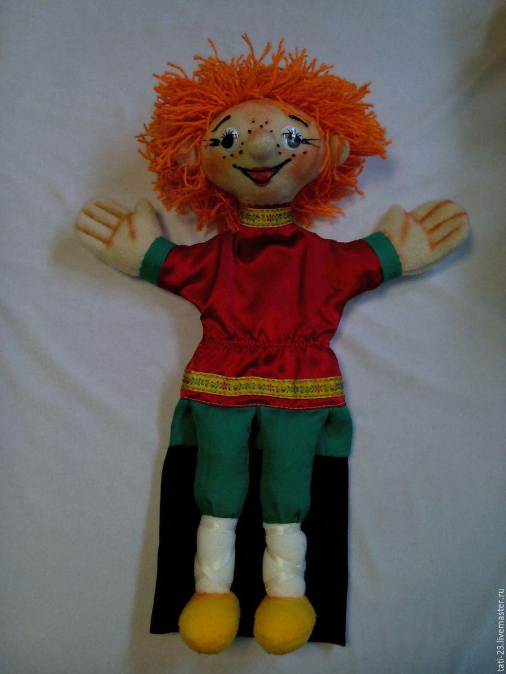 Купить Рыжий МАЛЬЧИШКА. Перчаточная кукла. - рыжий, мальчик, перчаточная кукла, театральная кукла
