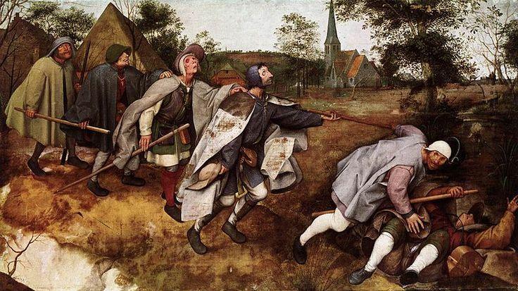 La parabola dei ciechi di Pieter Bruegel il Vecchio | Vitalba Morelli.it