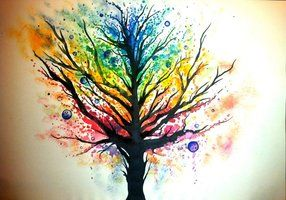 Celtic Tree of Life - Ink by foxvox on deviantART