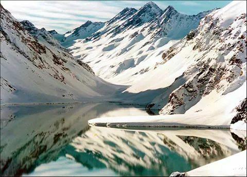 La laguna del Inca . #AprendeEspañolEnChile #Natalislang #InstitutoDeIdiomas