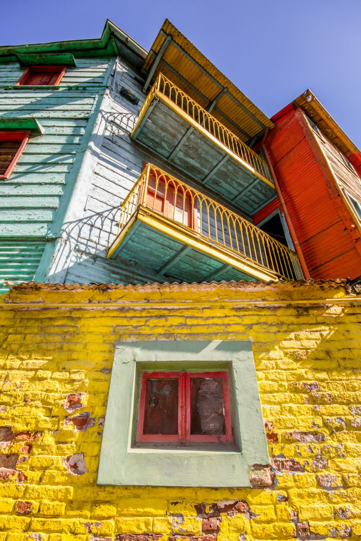 As the most colourful and photogenic district in #BuenosAires, La Boca has a rather bohemian feel and is popular with visitors for good reason.  #LaBoca | #Argentina | #Travel