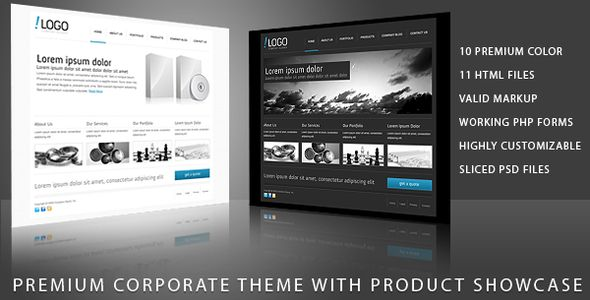 RT-Theme 11 / Business Theme with Product Showcase - ThemeForest Item for Sale