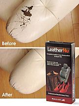 LeatherNu Repair Kit, Leather Dye Kit, Leather Restorer | Solutions | Solutions