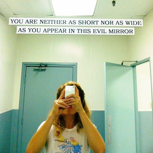 "1,332 Likes, 26 Comments - Erika Christensen (@erikachristensen) on Instagram: ""Evil lurks in one of the Parenthood sound-stages.  #enteratyourownrisk"""